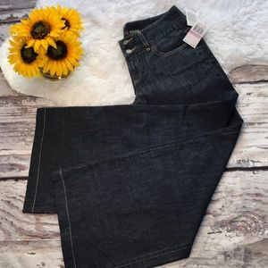 Michael Kors Wide-Leg Cropped Jeans